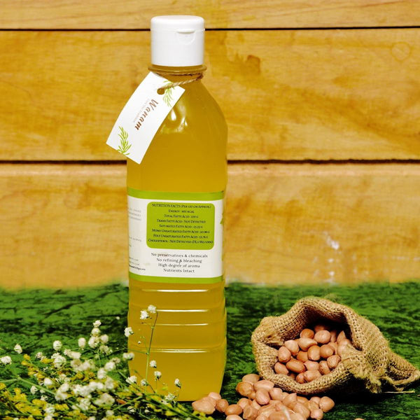 Cold-Pressed Groundnut Oil at Qtrove