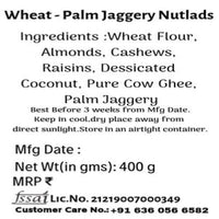 Wheat Nutlads (Punjabi Pinni) With Nutritious Sweetener-Palm Jaggery(Karupatti)
