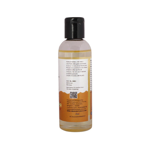 Ibbani Naturals Wheatgerm Oil For Skin and Hair (100% Pure and Cold Pressed) 100 ml FSSAI Approved