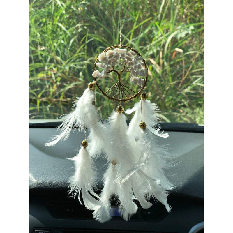 White Healing Tree  (Handmade Hangings)