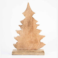 White & Natural Rustic Christmas Tree