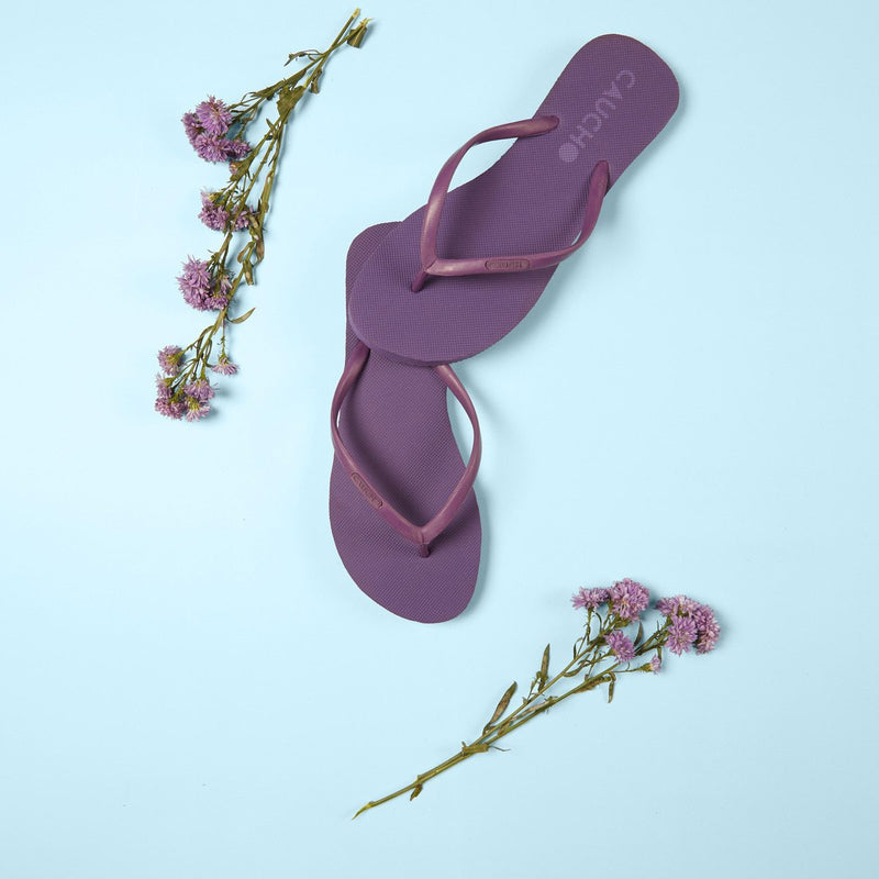 Flip-flops or Slippers - Women's (Violet) (Biodegradable and Vegan)