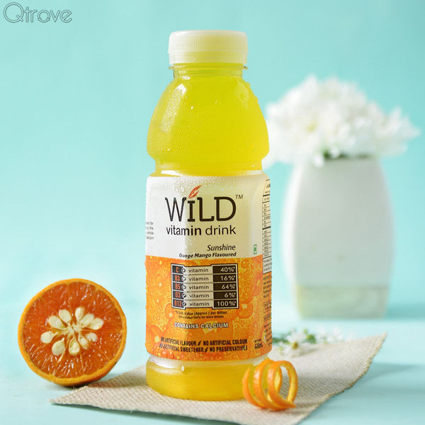 Sunshine with Orange Mango Vitamin Water (Pack of 3)