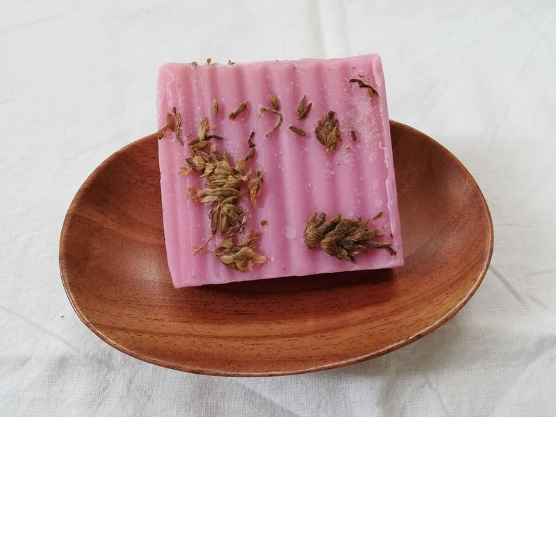 Neem Wood Soap Dish / Eco friendly / Anti bacterial / Shower Soap Holder / With Drainage Holes