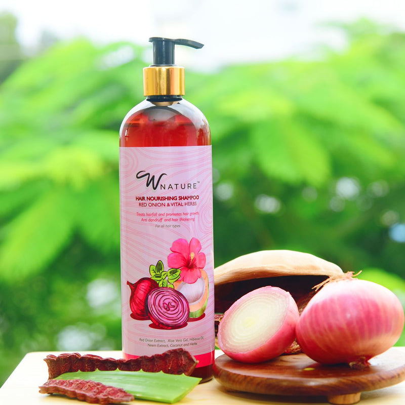 Hair Nourishing Shampoo with Red Onion & Vital herbs