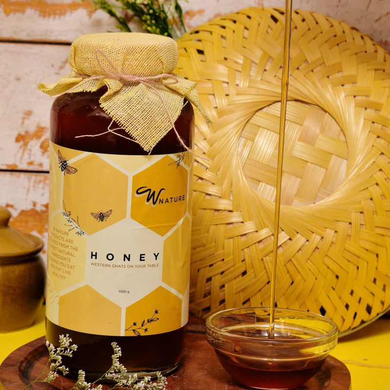 100% Pure and Natural Honey