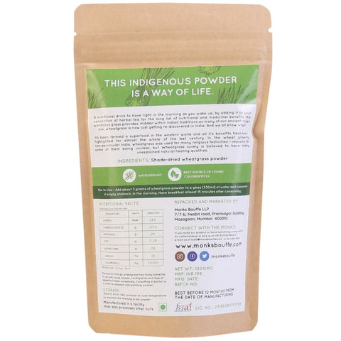 Wondrous Wheatgrass Powder (Pack of 2)