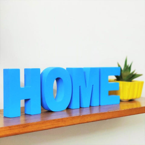 Wooden Home Sign Letters