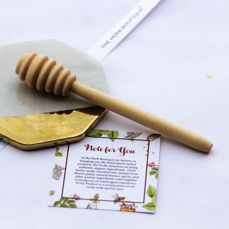 Wooden Honey Dipper- Extra Large- Pack of 5