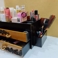 Wooden Makeup Organizer