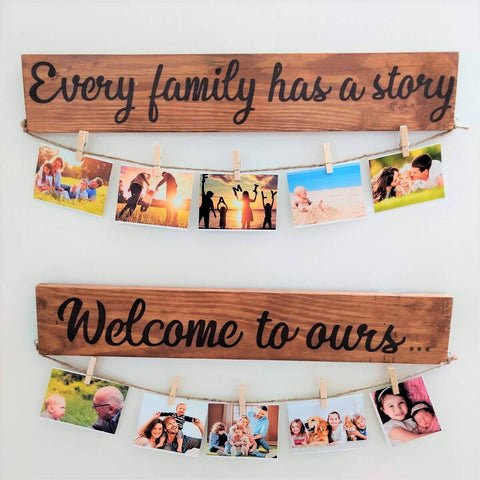 Wooden Picture Board | Wall Hanging