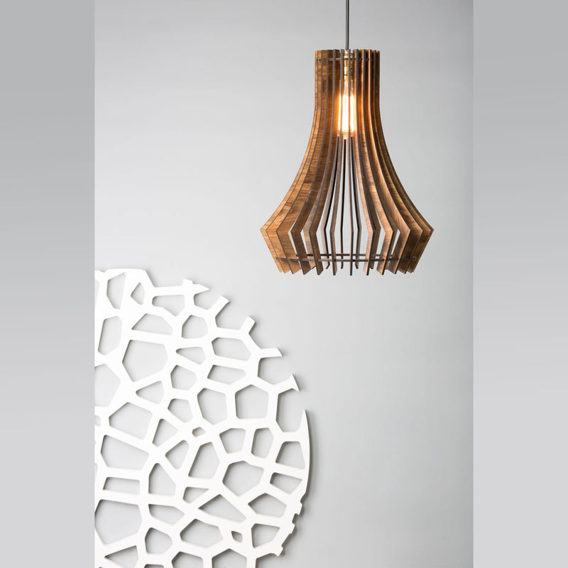 Wooden Large Pendant Lamp