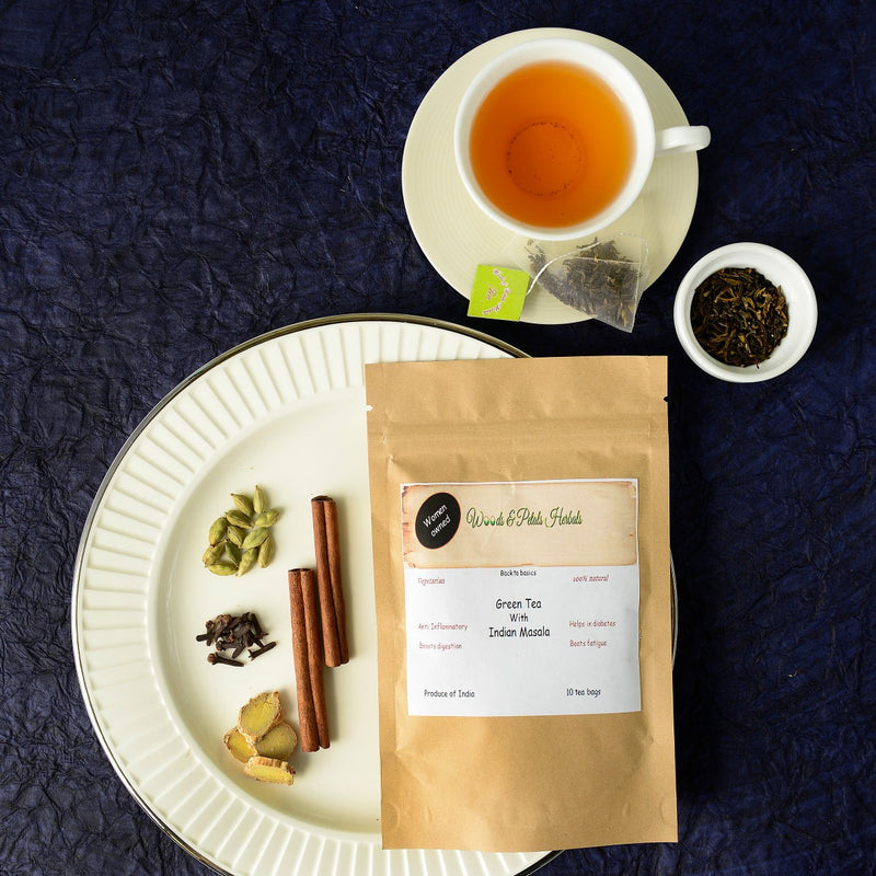 Green Tea With Indian Masala