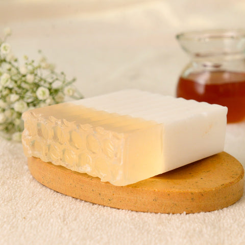 Natural Handcrafted Country Honey Coconut Soap (Set of 2)