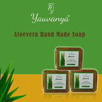 Aloevera Hand Made Soap(Pack of 3)