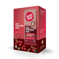 Protein Chocolate Cranberry Bars - 360gm, 6 x 60 g (Box of 6 bars)