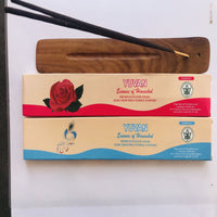Premium Organic Incense Sticks (Intimate+Rose)(Handmade)  (Combo Pack of 2)