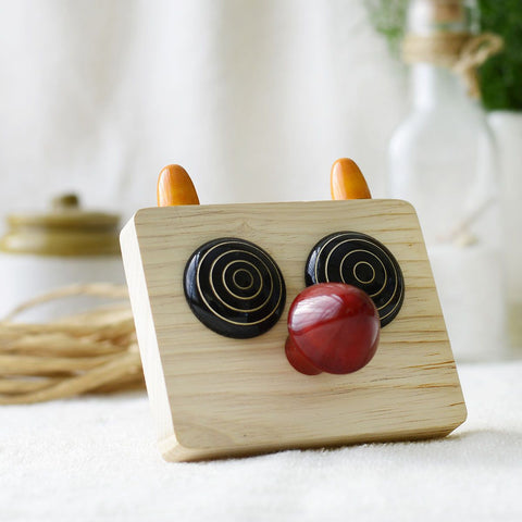 Maple Wood Zooby Paper Weight