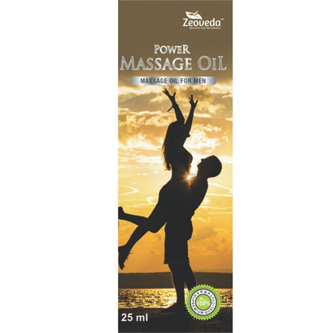 Zeoveda Power Massage Oil For Male Sexual Stamina 75 ML