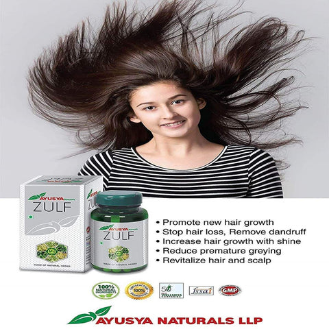 Hair Growth Tablet (Control Hair Loss ,Reduce Premature Greying)