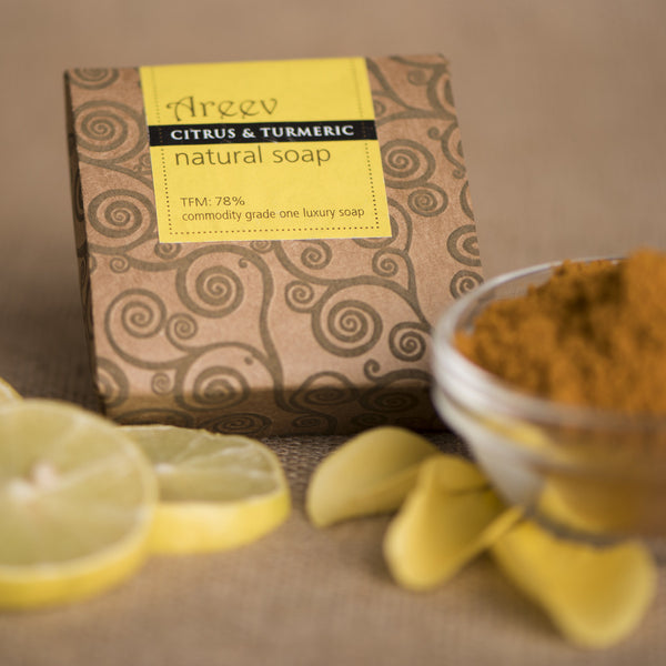 Citrus & Turmeric Body soap