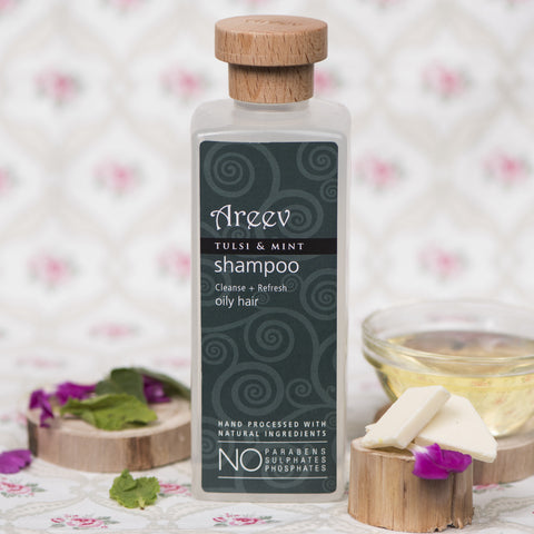 Tulsi and Mint Shampoo