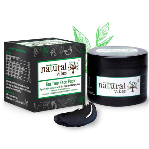 Ayurvedic Tea Tree Face Pack ( Activated Charcoal)