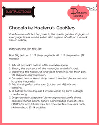 DIY Hazlenut And Chocolate Cookie