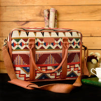 Handloom Craft Mexican Field Workbag