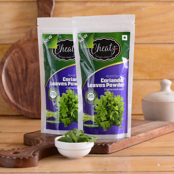 100% Dehydrated Fresh Coriander Leaves Powder