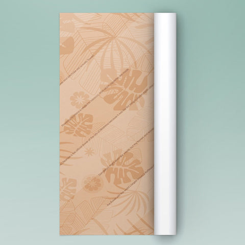eVincE pack of 10 Sepia tone Floral wrapping papers with interesting Flower facts.