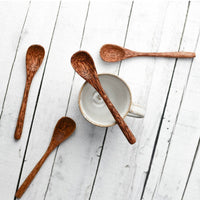 Eco Friendly Coconut Wood Spoon (Set of 4)