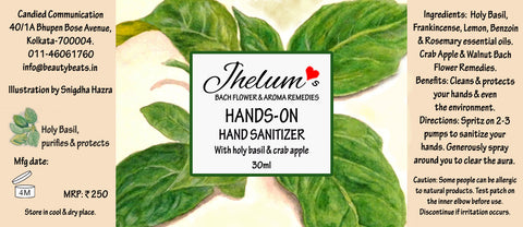 Hands-On Hand Sanitizer (With Holy Basil and Crab Apple)