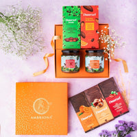 Fruit & Nut Gift Hamper (Nut butters - Chocolate Bars/Nuts)