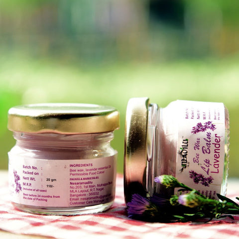 Special Bee Wax Lip Balm - Lavender (Pack of 2)