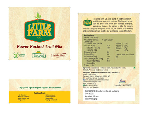Power Packed Trail Mix