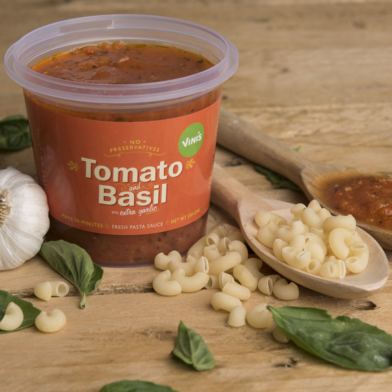Tomato Basil With Extra Garlic Sauce