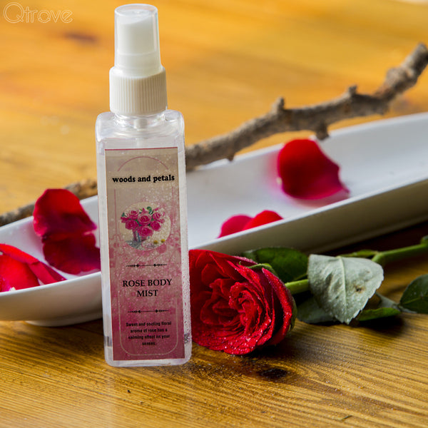Alcohol-Free Rose Body Mist at Qtrove