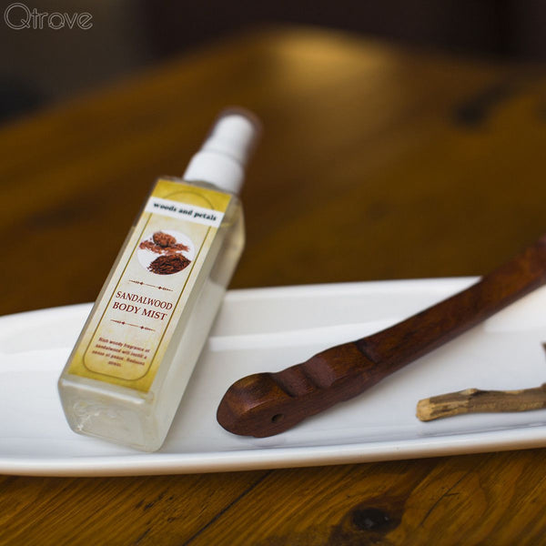 Alcohol-Free Sandalwood Body Mist at Qtrove