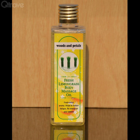 Lemongrass Body Massage Oil