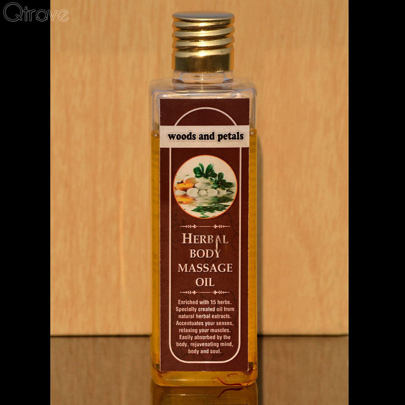 Paraben Free Herbal Body Massage Oil