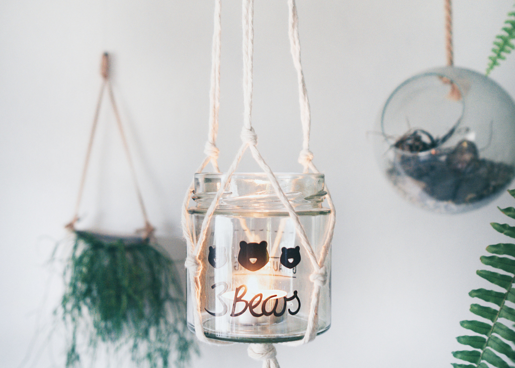 3Bears DIY Makamee Hängelicht Upcycling