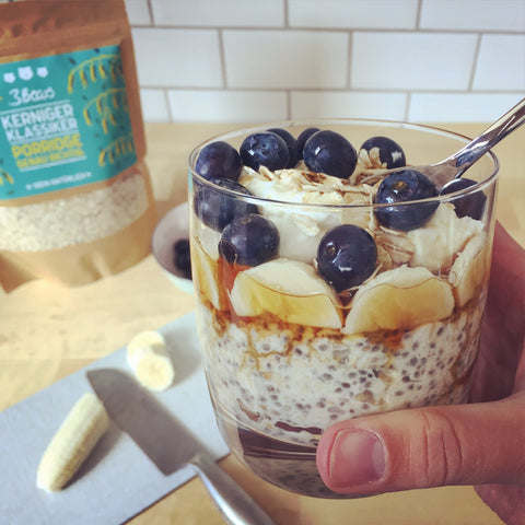 overnight-oats-haferflocken-mit-blueberries-banane-chia-vegan-lecker