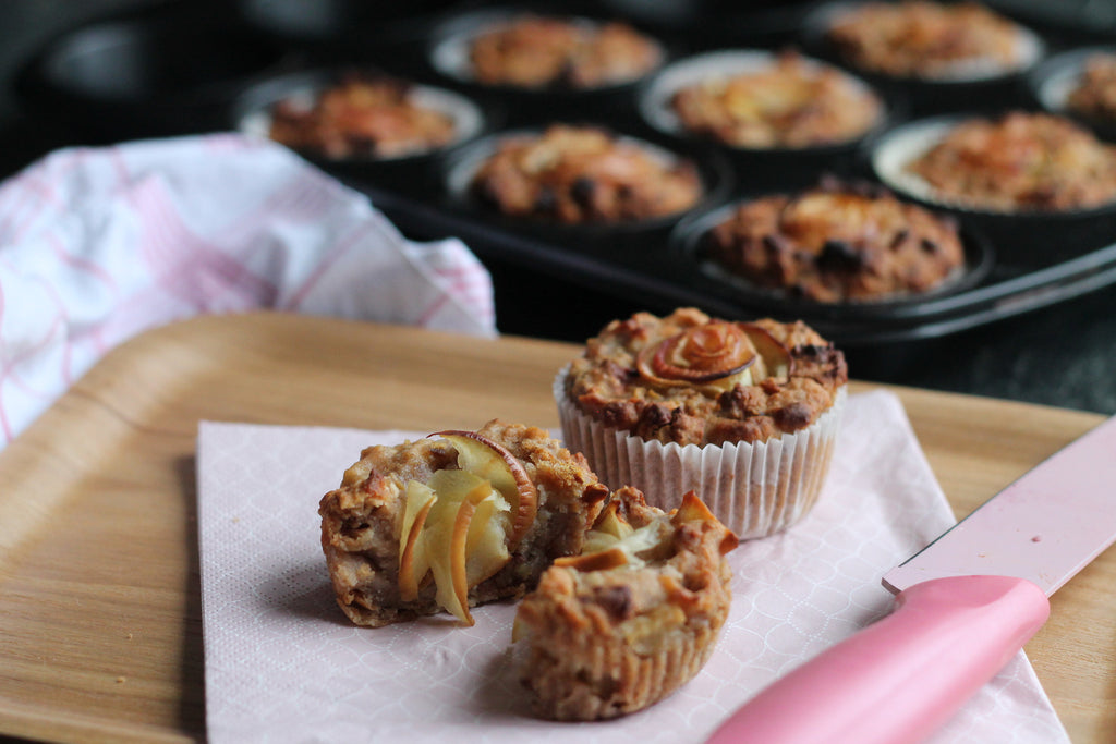 Apple Oat Muffins Rezept Porridge 3Bears
