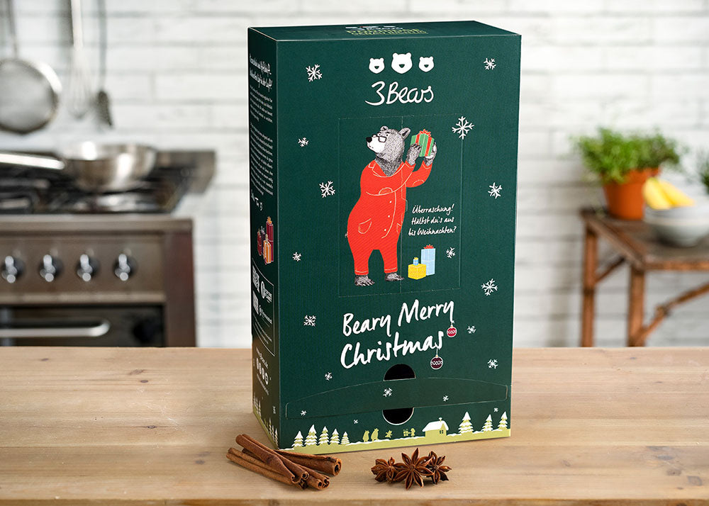 Der 3Bears Porridge Adventskalender