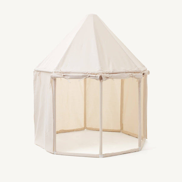Kid's Concept - Pavilion Play Tent Off White - All Mamas Children