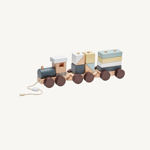 Kid's Concept - Neo Wooden Block Toy Train, Train, Kids Concept - All Mamas Children
