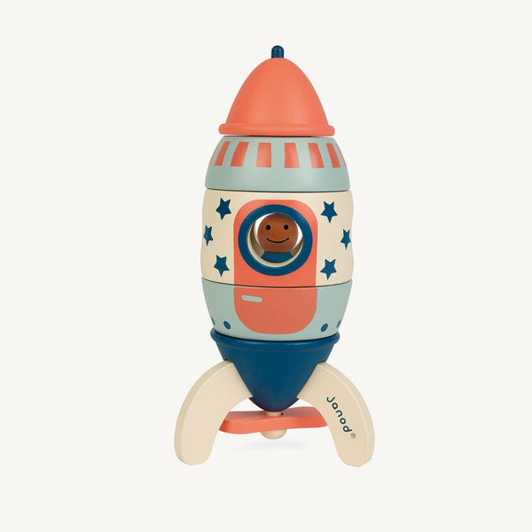 Janod - My Janod Rocket Magnetic Kit (16cm) - All Mamas Children