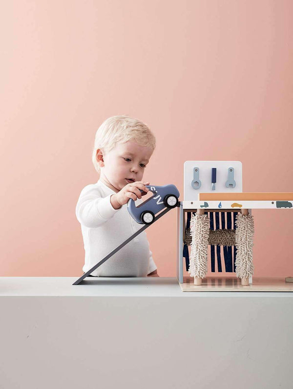 Kid's Concept - AIDEN 3 in One Wooden Toy Service Centre - All Mamas Children