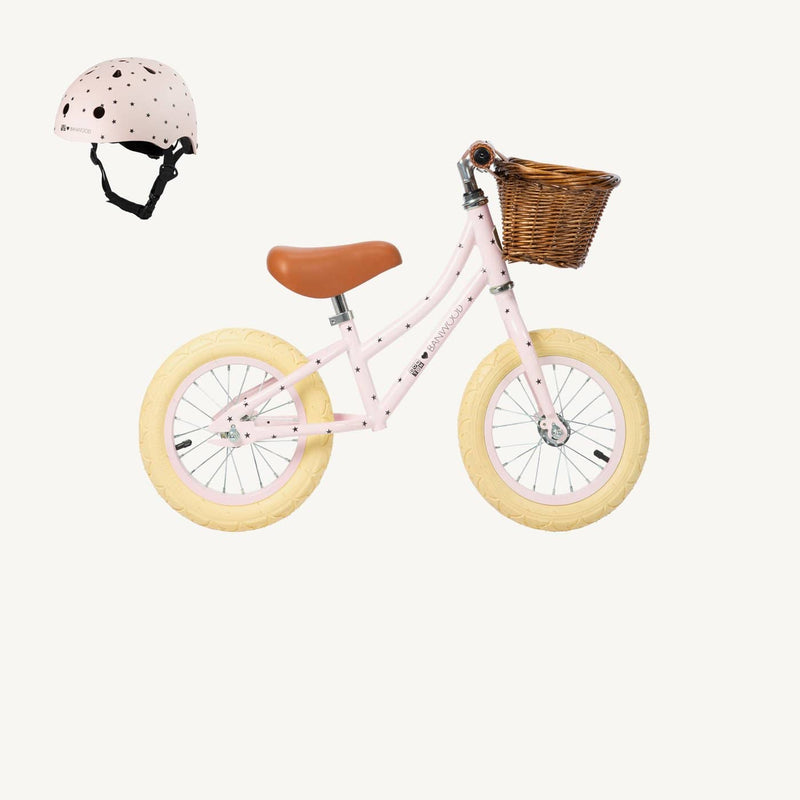 Banwood Helmet in Bonton Pink, Balance Bike, Banwood - All Mamas Children